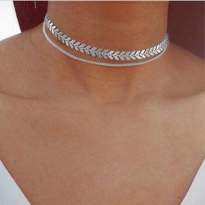 Jewelry - Double Fish Bone Choker